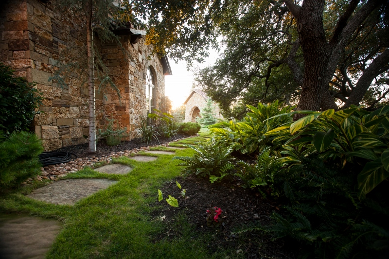 backyard sprinkler system kerrville tx