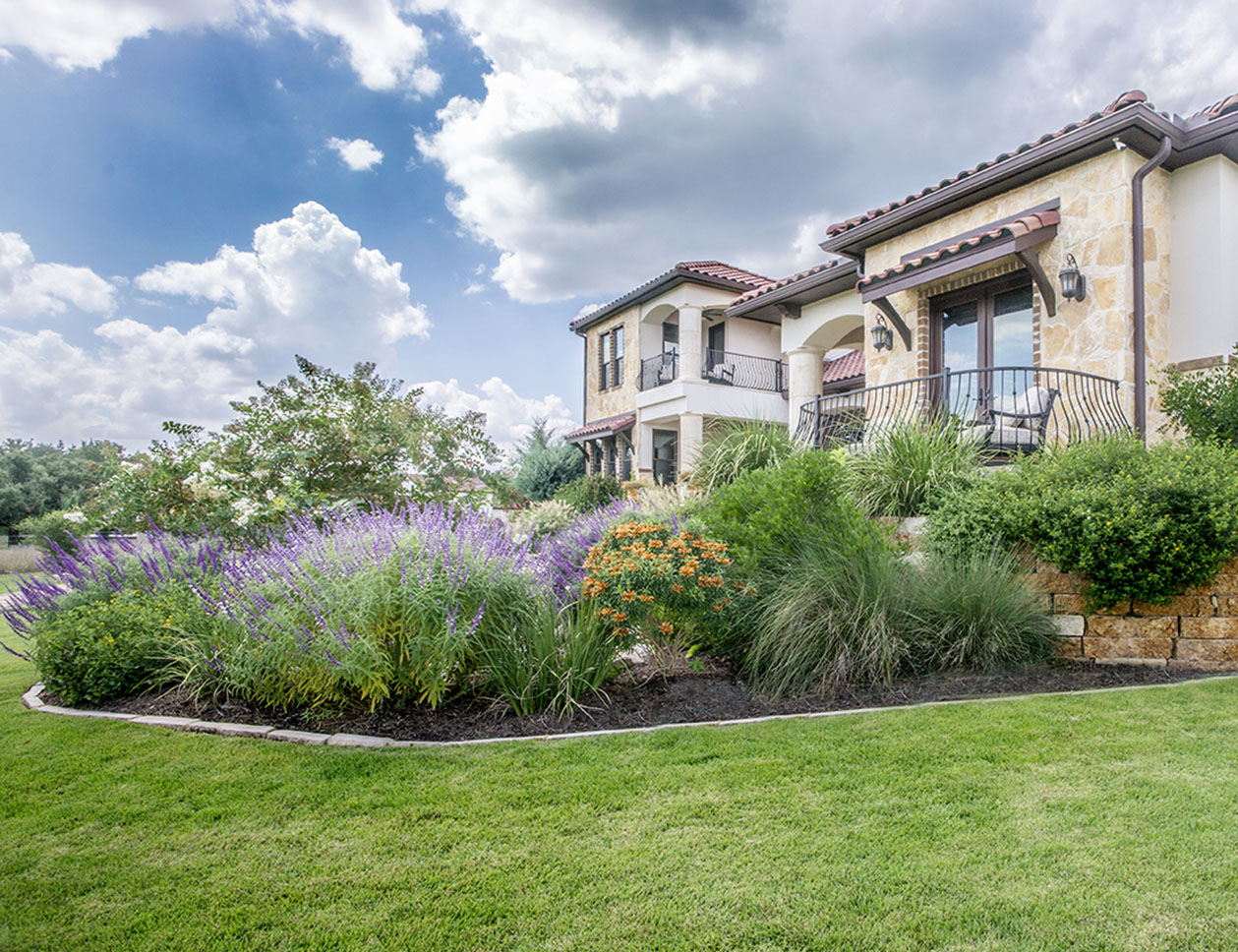 Landscape Installation services in the Texas Hill Country